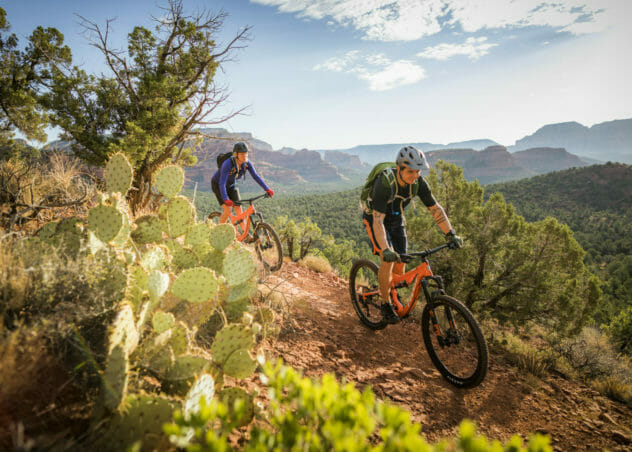 Mountain Biking Trails in Sedona