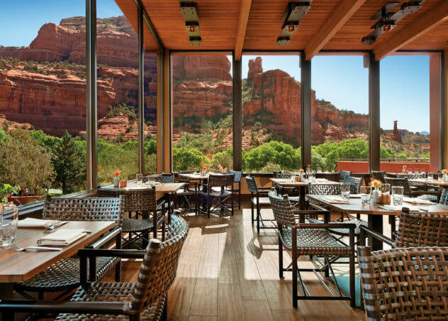 Outdoor Restaurants in Sedona | Sedona Restaurants | Tii Gavo