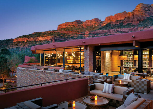 View 180 Patio Sedona Restaurant