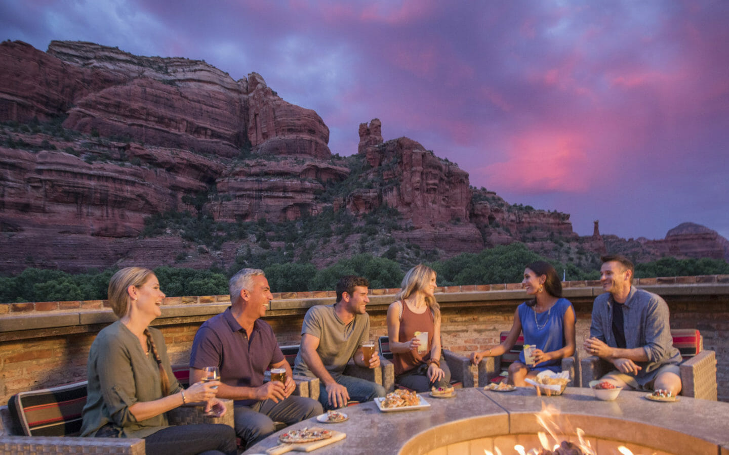 Enchantment Resort Outdoor Fire Pit
