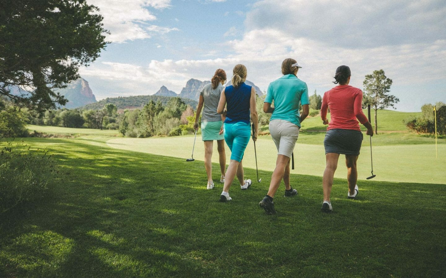 Group Golf at Seven Canyons Golf Course