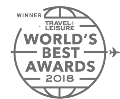 Badge for Travel + Leisure World's Best Awards 2018