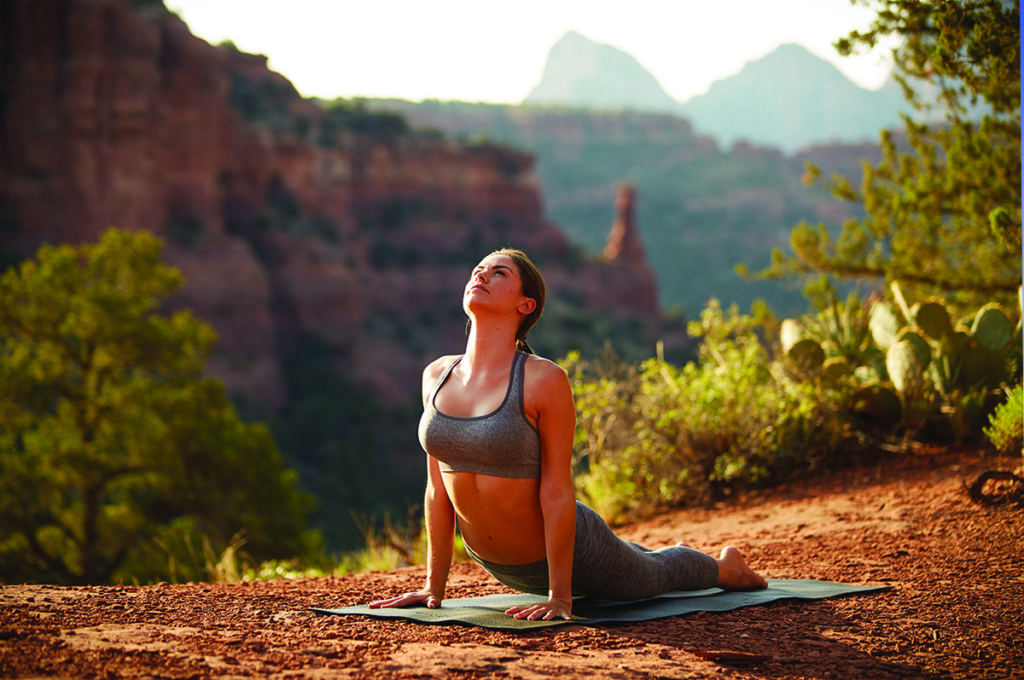 Yoga in Sedona at Boynton Canyon | Mii amo