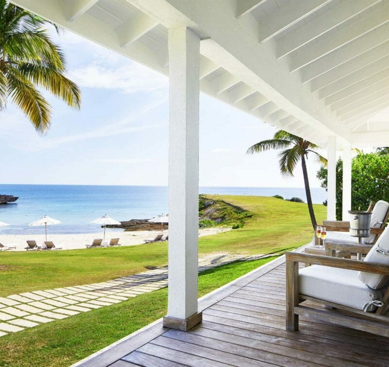 Resort villa exterior | The Cove Eleuthera Bahamas