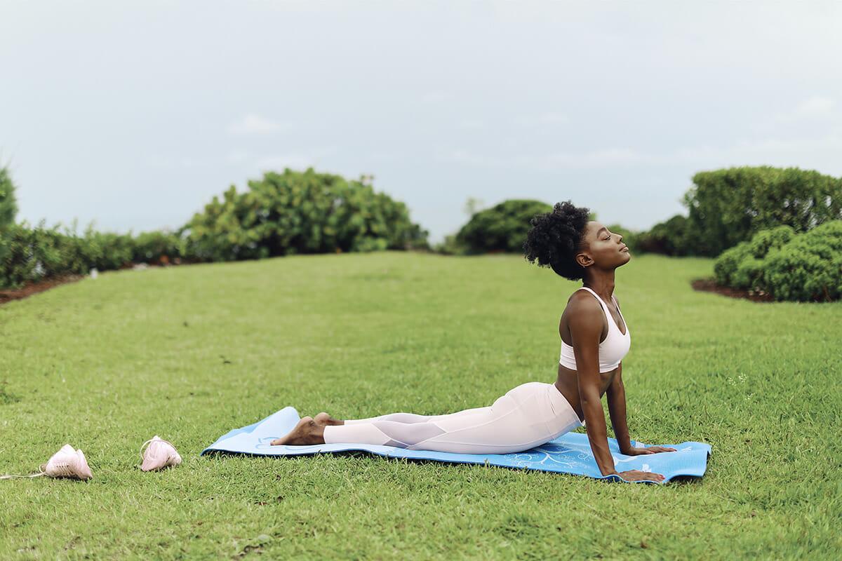 Yoga by ocean | The Cove Eleuthera Resort