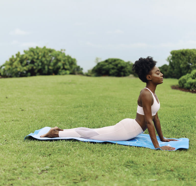 Yoga by beach | The Cove Eleuthera Resort