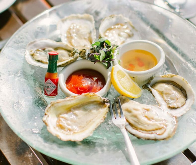 Restaurants Irvington VA Oysters | Tides Inn
