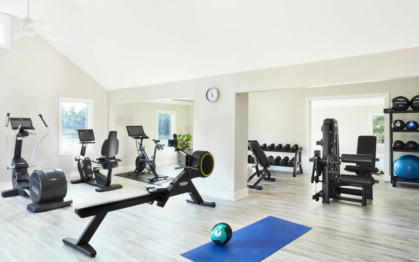 Fitness center at our Chesapeake Bay resort
