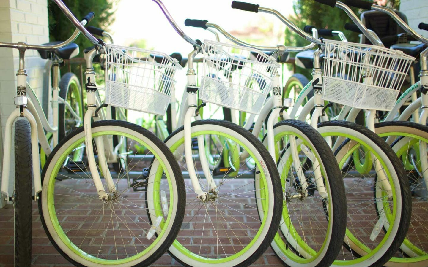 Bikes at Tides Inn, Virginia Resort