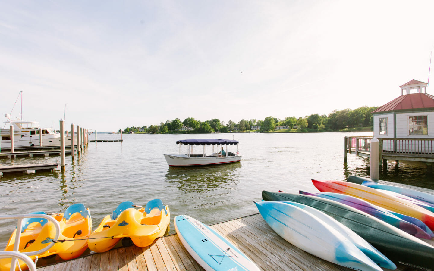 Chesapeake Bay Marina Slips | Tides Inn