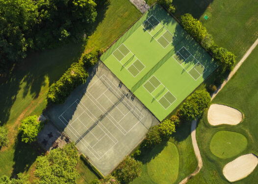 Tides Inn Tennis Pickle Ball Courts